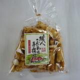 もち米100%、特製たまり醤油味で仕上げた 木村おかき 職人こだわり手揚げ たまり醤油使用