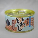 旬の時期に獲った刺身でも食べられる新鮮な良質の真いわしをあえて缶詰にしました いわし醤油味付け缶