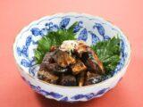 さんま黒酢煮 黒酢で骨まで軟らかく煮込んでいますので、骨ごとお召し上がりいただけます